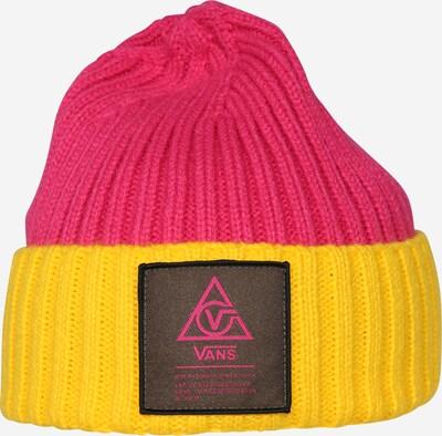 VANS 66 SUPPLY BEANIE in gelb / pink, Produktansicht