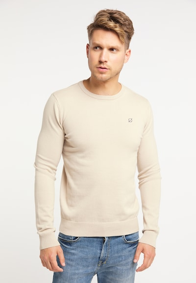 MO Pullover in beige: Frontalansicht