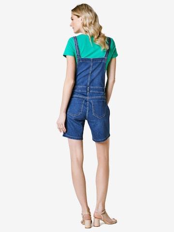 Esprit Maternity Tuinbroek jeans in Blauw