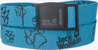 JACK WOLFSKIN Gürtel 'MAGNETO' in türkis / schwarz, Produktansicht