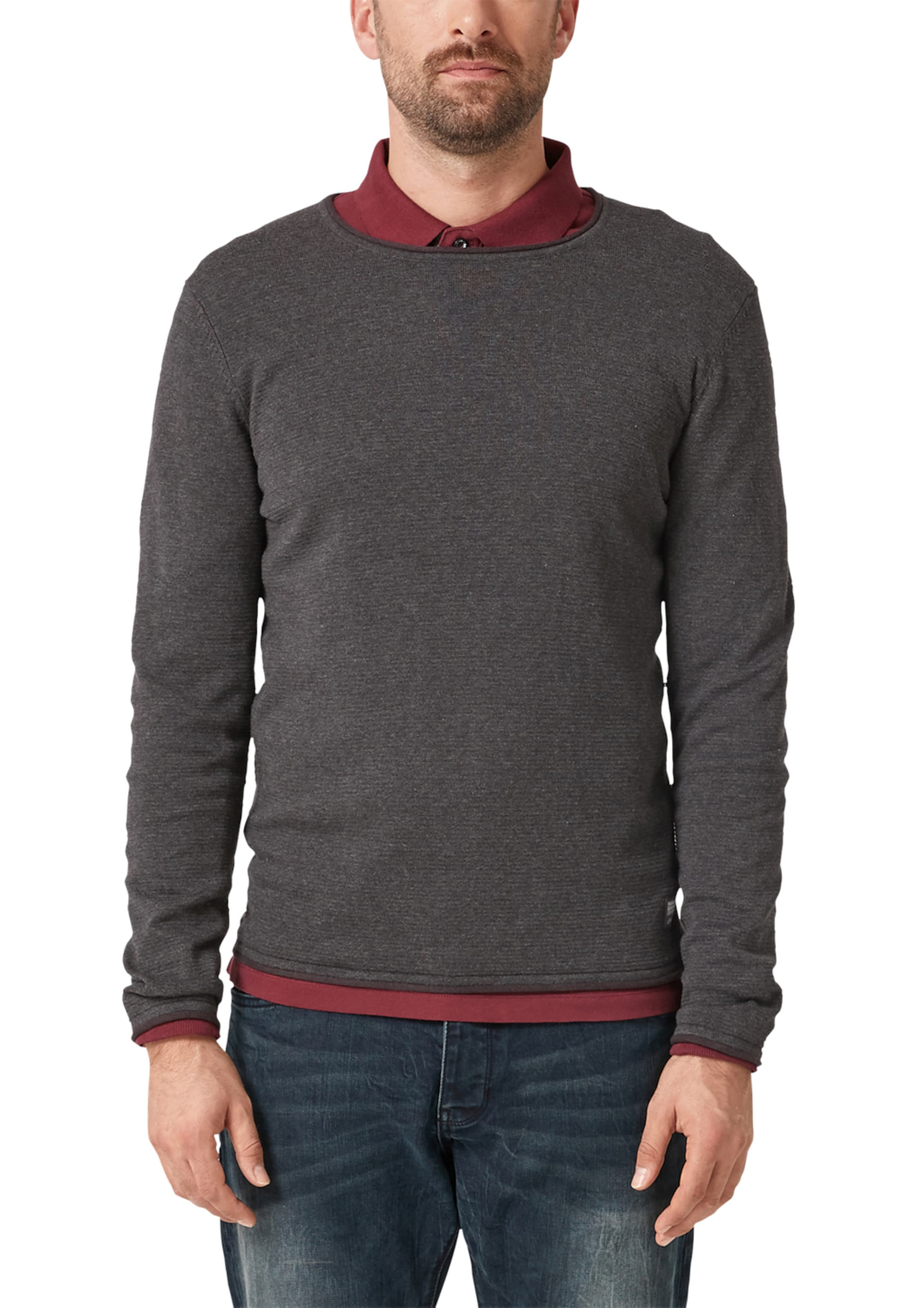 Label In oliver S GraphitAubergine Red Pullover KTlFc1J