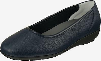Natural Feet Ballerina 'Johanna' in kobaltblau: Frontalansicht