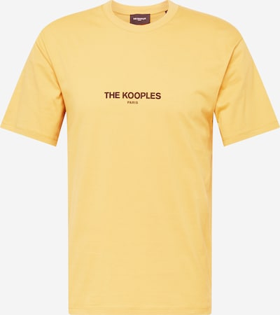 The Kooples T-Shirt en jaune / rouge rouille, Vue avec produit
