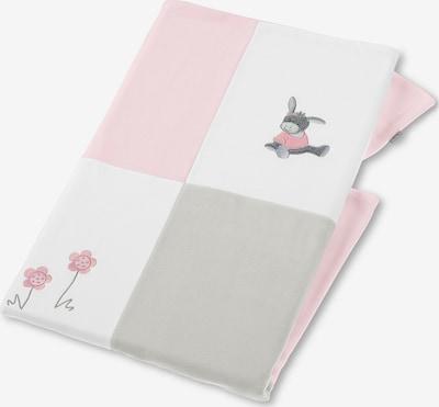 STERNTALER Kocyk dla niemowlaka 'Emmi' w kolorze szary / różowy / białym, Podgląd produktu