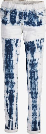 s.Oliver Treggings in blau / weiß, Produktansicht
