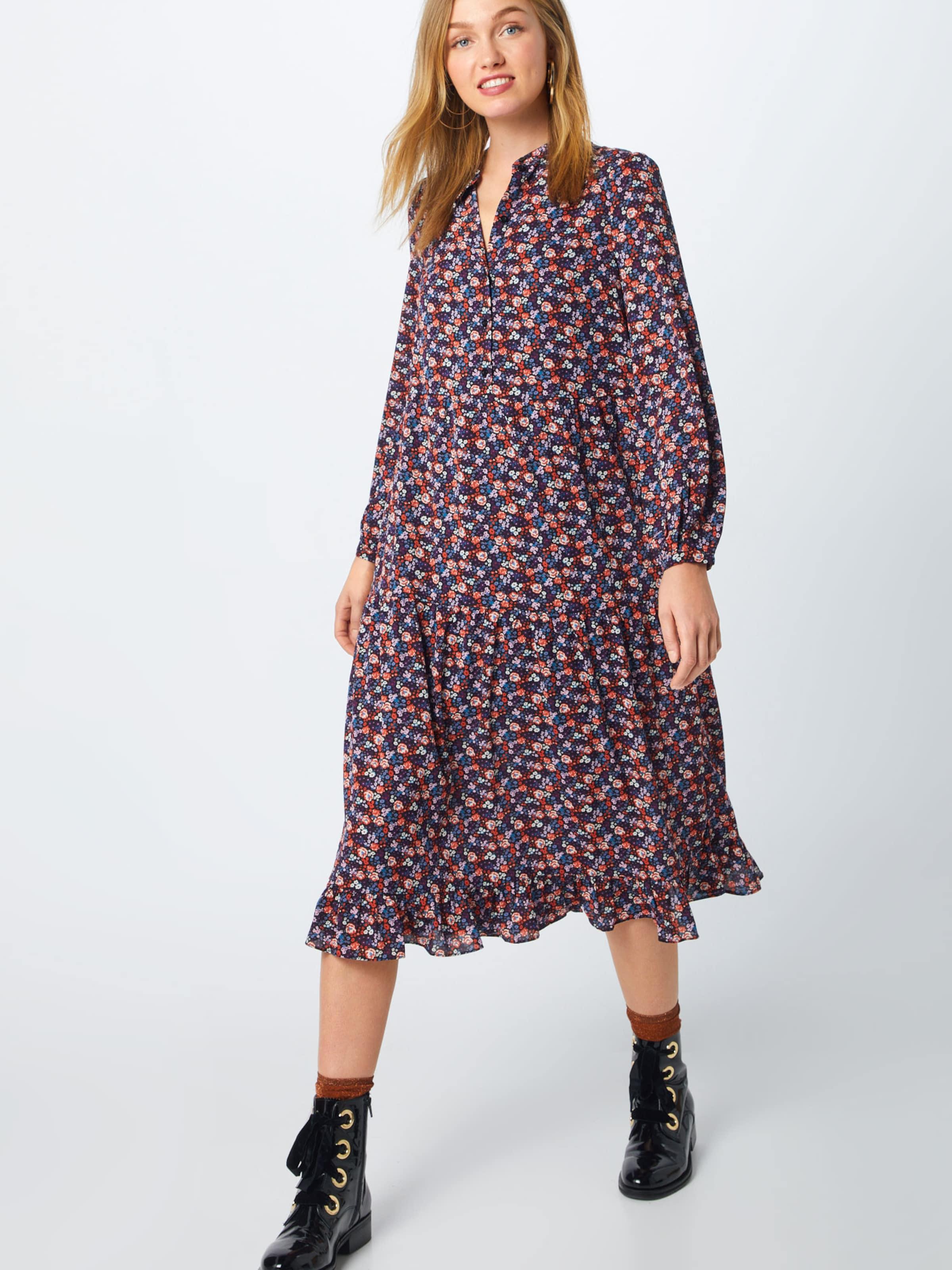 Mischfarben Kleid In Ichi 'ixloni Dr' 80NnwvmO