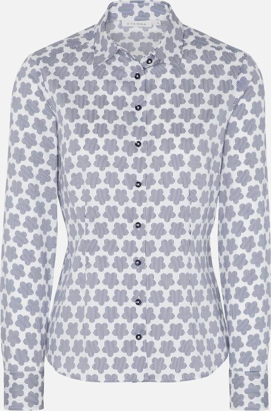 ETERNA Blause in helllila   weiß  Neue Kleidung in dieser Saison