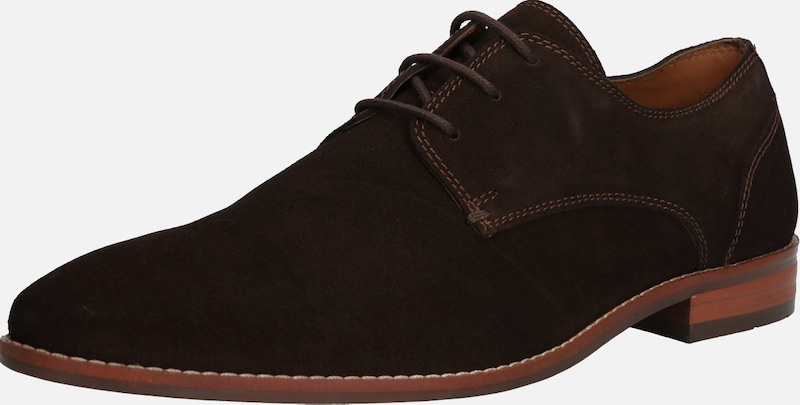 ABOUT YOU Halbschuh 'Kalle' in dunkelbraun, Produktansicht