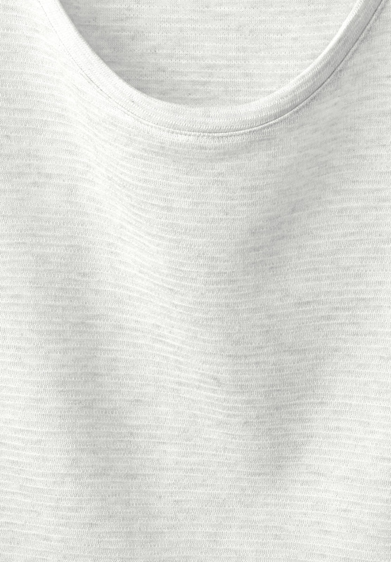 STREET ONE Streifen Struktur Shirt