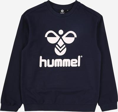 Hummel Sweatshirt 'DOS' in nachtblau / weiß, Produktansicht