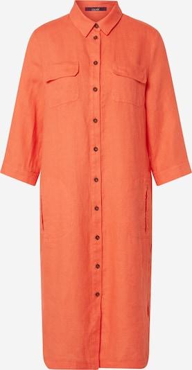 Rochie tip bluză LAUREL pe portocaliu, Vizualizare produs