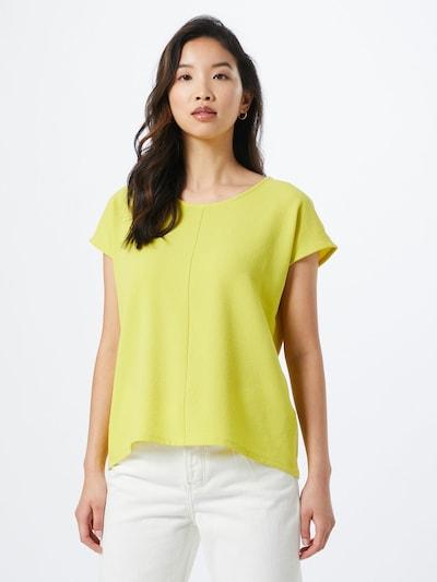 OPUS Tričko 'Sudo ROS' - citronová: Pohled zepředu