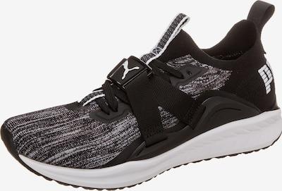 PUMA Sportschoen 'Ignite evoKNIT Lo 2' in de kleur Zwart gemêleerd / Wit, Productweergave