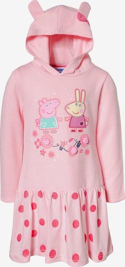 Peppa Pig Sweatkleid in mischfarben / rosa, Produktansicht