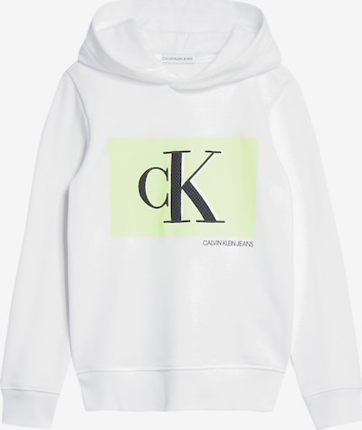 Calvin Klein Jeans Pullover in weiß, Produktansicht
