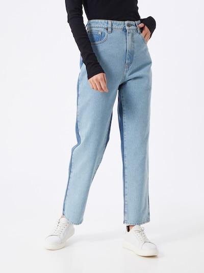 McQ Alexander McQueen Jeans 'Ren' in blue denim, Modelansicht