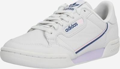 ADIDAS ORIGINALS Baskets basses 'Continental 80' en bleu / violet / blanc, Vue avec produit