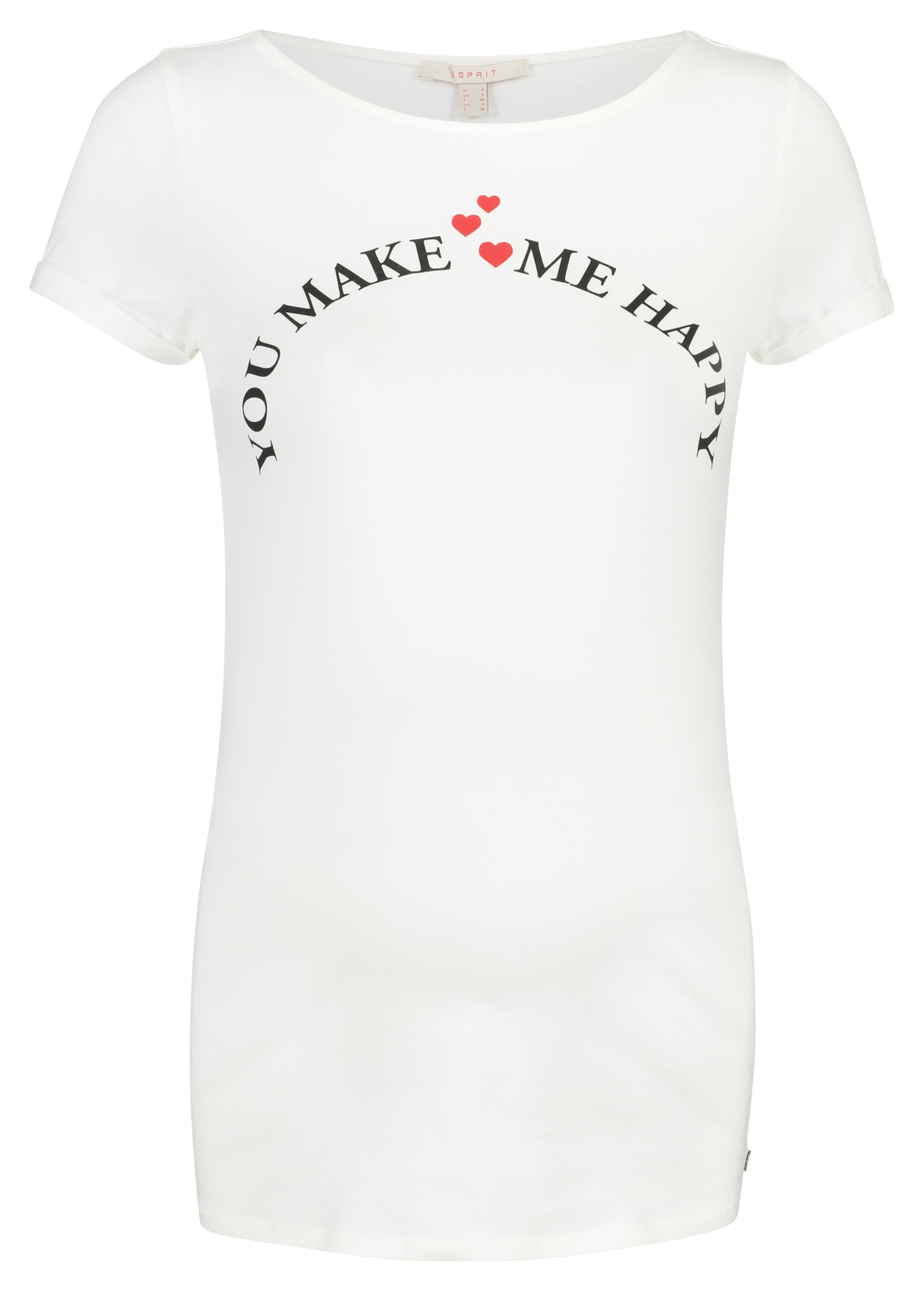 shirt Maternity T In HellrotSchwarz Esprit Offwhite 5j3L4AR