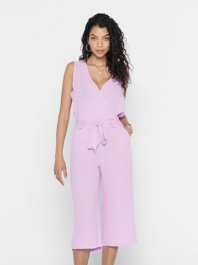 ONLY Combinaison en violet, Vue avec modèle