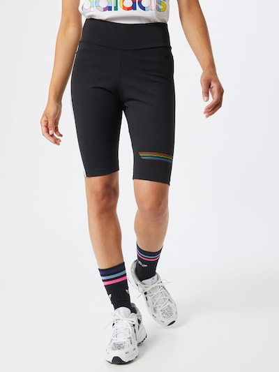 ADIDAS ORIGINALS Shorts 'PRIDE BIKE SHORT' in schwarz, Modelansicht
