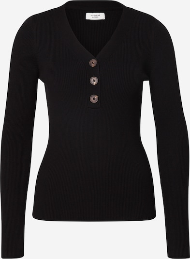 JACQUELINE de YONG Pullover 'JDYMELANI L/S PULLOVER KNT' in schwarz, Produktansicht