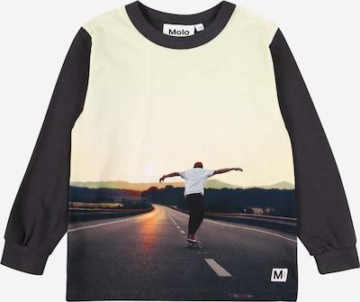 Molo Shirt 'Rez' in nude / cappuccino / orangerot / schwarz / weiß, Produktansicht