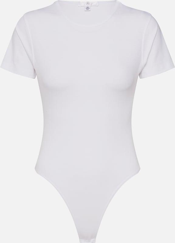 Missguided Blanc T Missguided Blanc Missguided shirt T shirt En En T shirt En lKJ31cTF