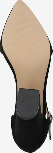 Sandale cu baretă GLAMOROUS pe negru: Privire de sus
