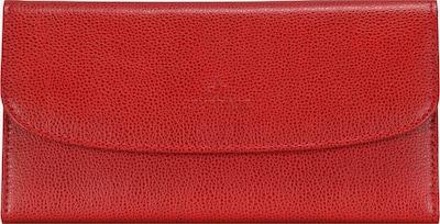 WINDROSE Schmucktasche 'Beluga' in rot, Produktansicht
