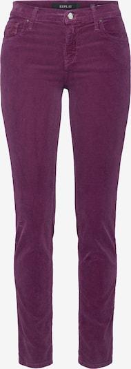 REPLAY Pantalon 'VIVY' en violet, Vue avec produit