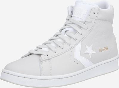 CONVERSE Sneaker 'PRO LEATHER - HI' in hellgrau / weiß, Produktansicht