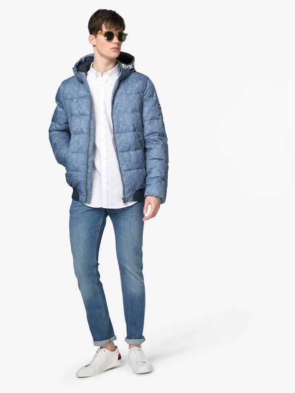 Tommy Jeans Übergangsjacke 'TJM HD PRINT JACKET 19'