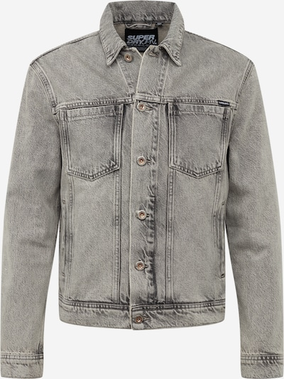 Superdry Tussenjas 'HIGHWAYMAN TRUCKER' in de kleur Grey denim, Productweergave
