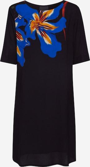 Desigual Zomerjurk 'VEST PISTILO' in de kleur Blauw / Sinaasappel / Zwart, Productweergave