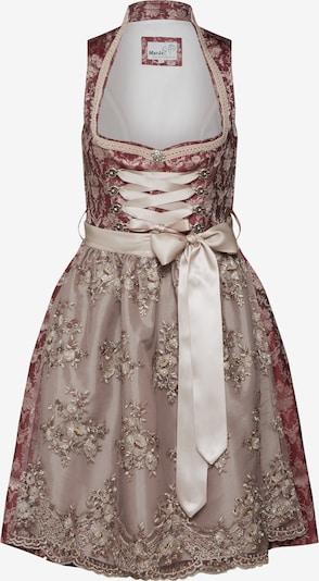 Rochițe tiroleze 'Grada' MARJO pe roz / bordeaux, Vizualizare produs