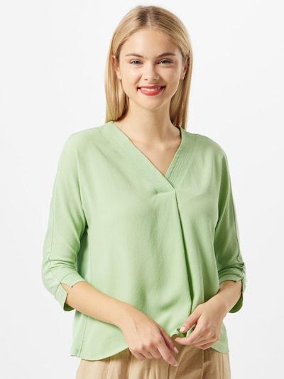 MORE & MORE Bluse in hellgrün, Modelansicht