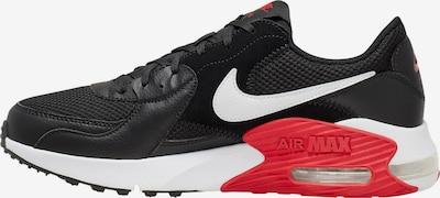 Nike Sportswear Sneaker 'Air Max Excee' in rot / schwarz / weiß, Produktansicht
