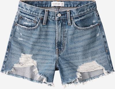 Abercrombie & Fitch Shorts 'DENIM BOYFRIEND DARK DESTROY' in blue denim, Produktansicht