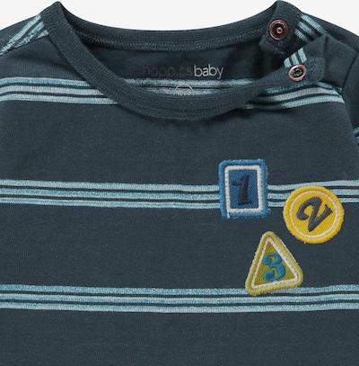 Noppies Langarmshirt 'Alabaster' in navy / hellblau, Produktansicht