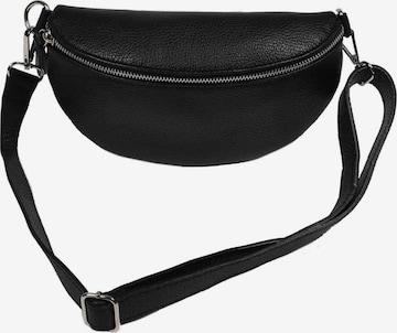Zwillingsherz Crossbody Bag in Black