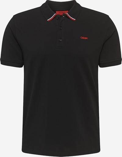 HUGO T-Shirt 'Daruso202' en rouge / noir / blanc, Vue avec produit