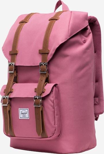 Herschel Sac à dos 'Little America' en rose, Vue avec produit