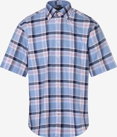 Andrew James Hemd ' ' in blau / schwarz, Produktansicht