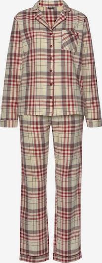HIS JEANS Pyjama in mischfarben, Produktansicht