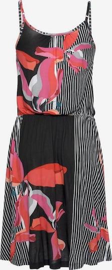 LASCANA Kleid in mischfarben / schwarz / weiß, Produktansicht