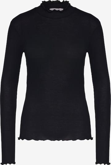 Tricou 'NELLI' Samsoe Samsoe pe negru: Privire frontală