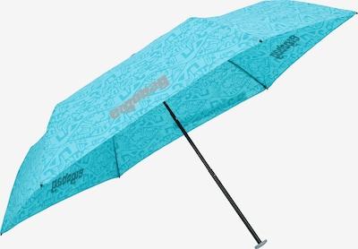 ergobag Regenschirm in türkis / hellblau, Produktansicht