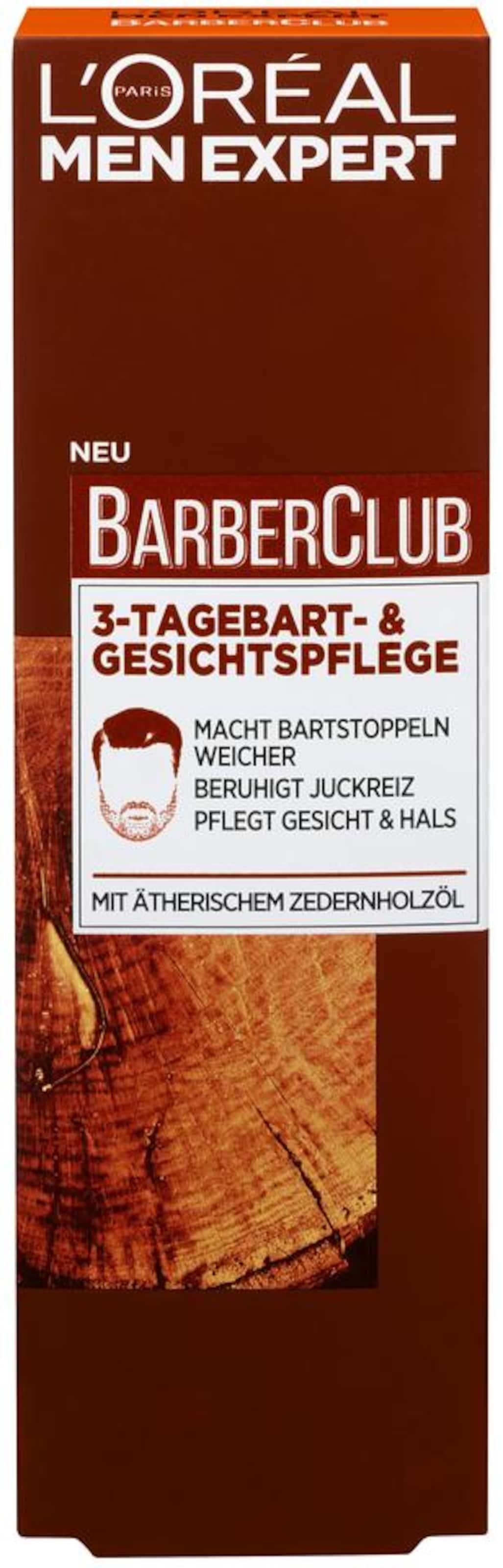 Men L'oréal Paris 'barber tagebartUnd Expert 3 In Braun Club Gesichtspflege'Bartpflege BdxorCe