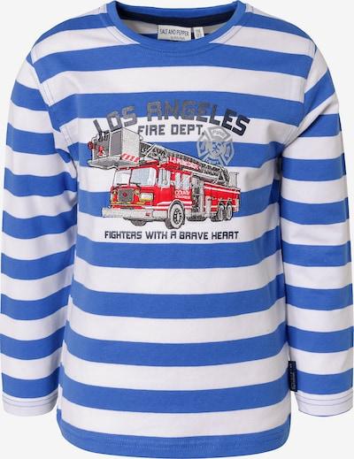 SALT AND PEPPER Langarmshirt , Feuerwehr in blau, Produktansicht
