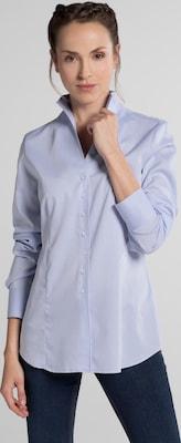 ETERNA Blouse 'MODERN CLASSIC' in Lichtblauw